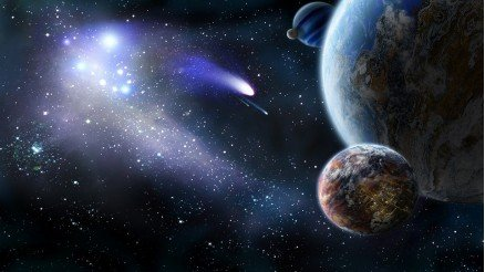 UZY-150017026 Uzay Duvar Kağıdı