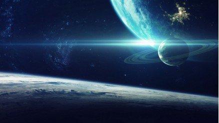 UZY-150017050 Uzay Duvar Kağıdı