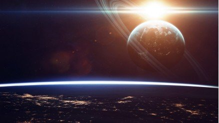 UZY-150017052 Uzay Duvar Kağıdı