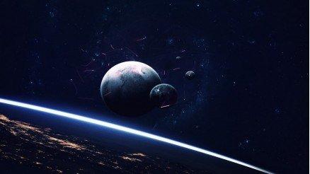 UZY-150017053 Uzay Duvar Kağıdı