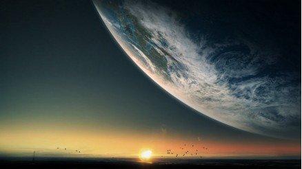 UZY-150017125 Uzay Duvar Kağıdı