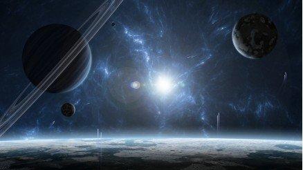 UZY-150017130 Uzay Duvar Kağıdı