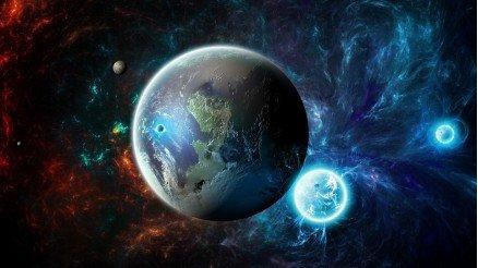 UZY-150017131 Uzay Duvar Kağıdı