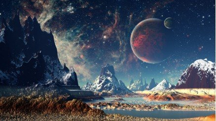 UZY-150017134 Uzay Duvar Kağıdı