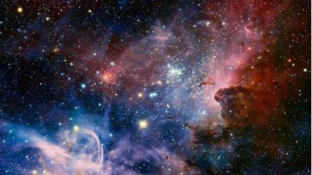 YD-190030 - Galaksi Duvar Kağıdı