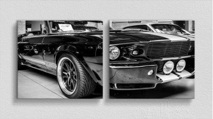Sokakların Sahibi Mustang GT500 Kanvas Tablo