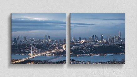 DS-180017009 - Şehir Temalı Kanvas Tablo