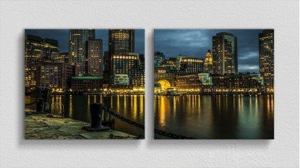 DS-180017018 - Şehir Temalı Kanvas Tablo