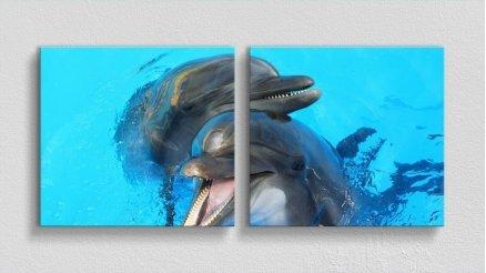 HYV-110017056 - Hayvanlar Alemi Kanvas Tablo