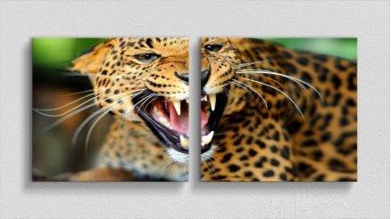 HYV-110017125 - Hayvanlar Alemi Kanvas Tablo