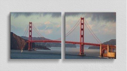 KPR-120017006 - Köprü Temalı Kanvas Tablo