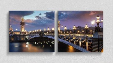KPR-120017010 - Köprü Temalı Kanvas Tablo