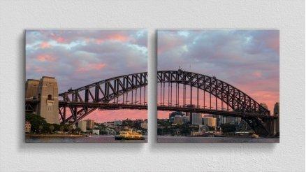 KPR-120017013 - Köprü Temalı Kanvas Tablo