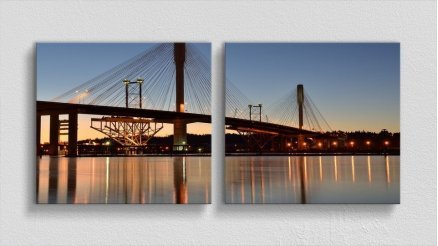 KPR-120017018 - Köprü Temalı Kanvas Tablo
