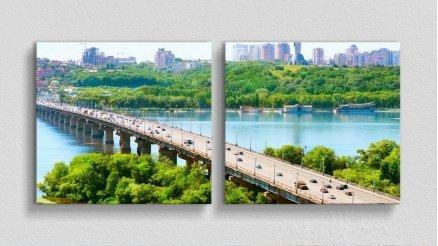 KPR-120017021 - Köprü Temalı Kanvas Tablo