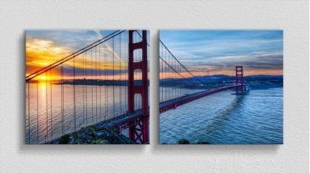 KPR-120017023 - Köprü Temalı Kanvas Tablo