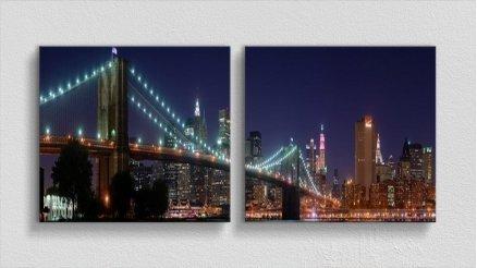 KPR-120017030 - Köprü Temalı Kanvas Tablo
