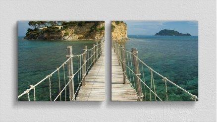 KPR-120017033 - Köprü Temalı Kanvas Tablo
