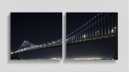 KPR-120017035 - Köprü Temalı Kanvas Tablo