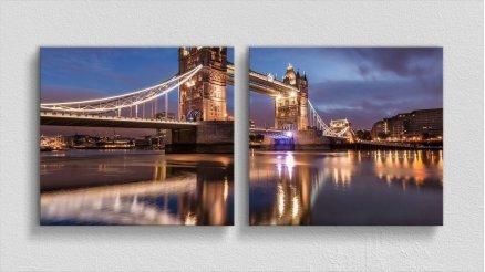 KPR-120017036 - Köprü Temalı Kanvas Tablo