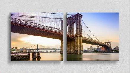 KPR-120017040 - Köprü Temalı Kanvas Tablo
