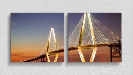 KPR-120017046 - Köprü Temalı Kanvas Tablo