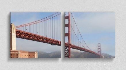 KPR-120017047 - Köprü Temalı Kanvas Tablo