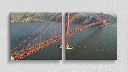 KPR-120017049 - Köprü Temalı Kanvas Tablo