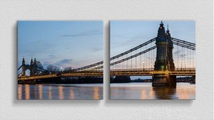 KPR-120017056 - Köprü Temalı Kanvas Tablo