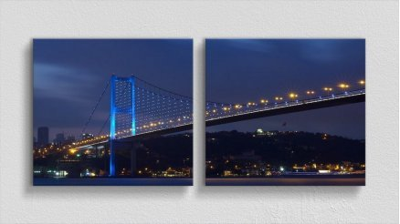KPR-120017057 - Köprü Temalı Kanvas Tablo