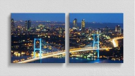 KPR-120017058 - Köprü Temalı Kanvas Tablo