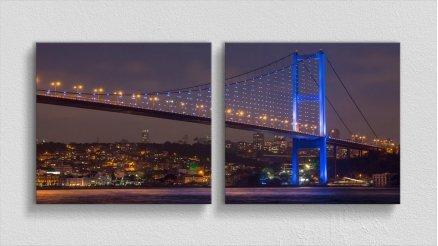 KPR-120017059 - Köprü Temalı Kanvas Tablo