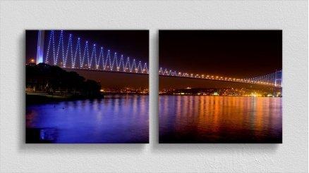 KPR-120017062 - Köprü Temalı Kanvas Tablo