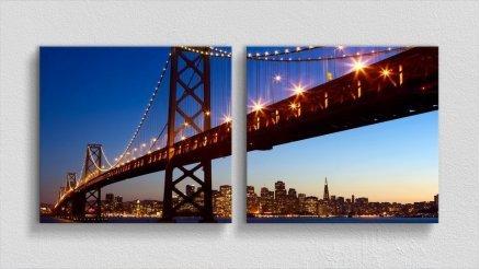 KPR-120017064 - Köprü Temalı Kanvas Tablo