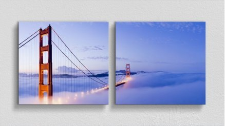 KPR-120017066 - Köprü Temalı Kanvas Tablo