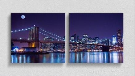 KPR-120017069 - Köprü Temalı Kanvas Tablo