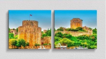 TR-140017001 - Türkiye Temalı Kanvas Tablo