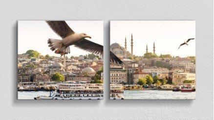 TR-140017008 - Türkiye Temalı Kanvas Tablo