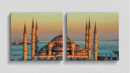 TR-140017010 - Türkiye Temalı Kanvas Tablo