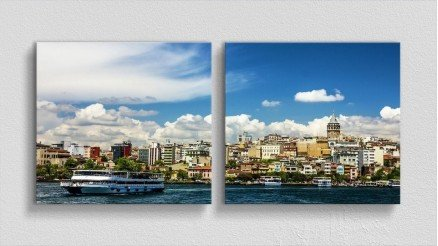 TR-140017011 - Türkiye Temalı Kanvas Tablo