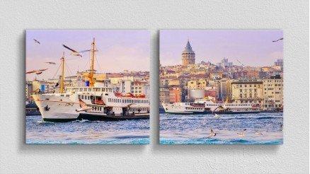 TR-140017012 - Türkiye Temalı Kanvas Tablo
