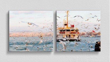 TR-140017014 - Türkiye Temalı Kanvas Tablo