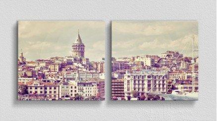 TR-140017015 - Türkiye Temalı Kanvas Tablo