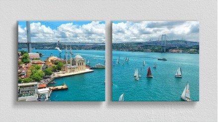TR-140017018 - Türkiye Temalı Kanvas Tablo