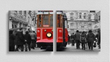 TR-140017019 - Türkiye Temalı Kanvas Tablo