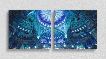 TR-140017021 - Türkiye Temalı Kanvas Tablo