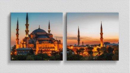 TR-140017022 - Türkiye Temalı Kanvas Tablo