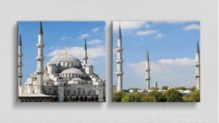 TR-140017024 - Türkiye Temalı Kanvas Tablo