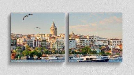 TR-140017025 - Türkiye Temalı Kanvas Tablo
